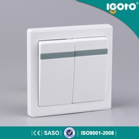 igoto E9021 britith wall switch british standard 2gang 1 way Types Of Electrical Switches