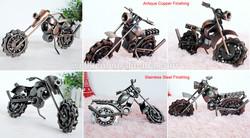 Iron mini motorcycles models,Handmade Metal motorcyles models M5C