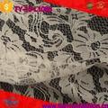 linda rosa padrão químico cording atacado elegante laço de tule tecido
