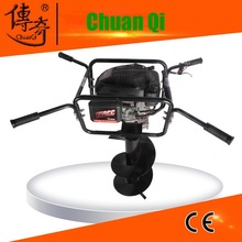 Manual rice transplanter ground drill for garden hand tools