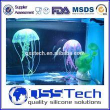 Fashion eco-friendly coloured glaze. the crystal, jellyfish aquarium, artificial jellyfish aquarium