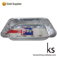 heat resistant aluminum foil food container