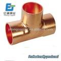 China alibaba de cobre accesorios de tubería de cobre t- tres enlaces de aire acondicionado y refrigeración piezas de repuesto
