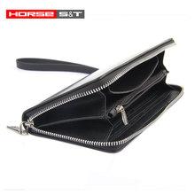 3K Clip Leather Carbon Fiber Wallet,Carbon Fiber Money Purse