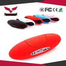 FM Radio Portable Usb/fm Mini Bluetooth Speaker With Led Portable Usb Speaker