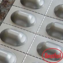 competitive price and quality metal foil laminated mdf metal foil alu paper PET / Aluminium Foil / PE heat sealing aluminium f