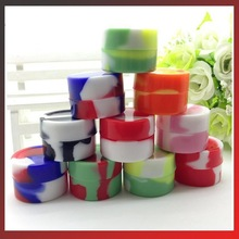 Silicone Wax Box for Dry Herb Atomzier Silicone Wax Containers Reusable Non-toxic Silicone Jars Container Soild Oil Container