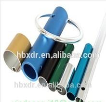 Aluminium Extrusion Tube anodized colors