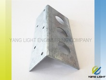 Taiwan Manufacturer Made OEM Carbon Steel Stamping plated U Shaped metal wall bracket
