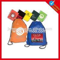 hotsale nylon promotional custom cotton drawstring bag