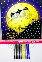 2015 Popular halloween DIY acrylic sticker for kids