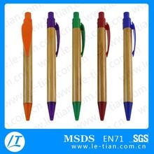 PB-050 Best Selling Promotional Wooden Pen Ball Plastic Pen for Gift