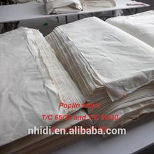 100% cotton sheeting 30*30 68*68 plain woven fabric