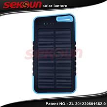 Seksun Wholesales Large Energy Solar Cellphone Power Bank 5000mah back up recharge battery
