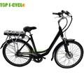 Cidade ebike, 26 polegada carregamento lady bicicleta elétrica China