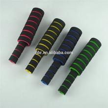 muti-colored pair soft foam sponge bmx bikecycle handle handlebar grips