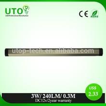 3W 0.3M cabinet led mini spot light trapezoid shape