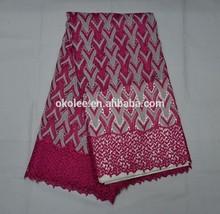 nigeria guipure lace/african guipure lace fabric2015