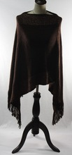 2015 lady winter warm pattern solid color shawl with paillette