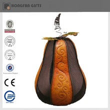 fashion metal pumpkin for hravest ornament