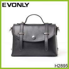 H2895 Hot sale fashion PU leather waterproof men/women leather messenger bag