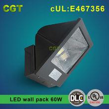 LED wall lighting 60w DLC UL 5 years warranty