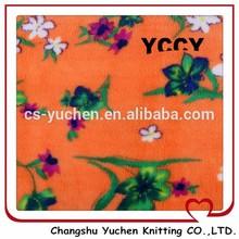 anti pill fabric fleece soft polyester shu velveteen fabric