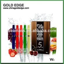 GOLD EDGE new innovative e-hookah W3 1000puffs fresh fruit flavors