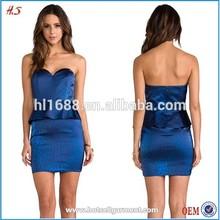 Clothing manufactuer evening dress short , evening dress wholesale HS400120