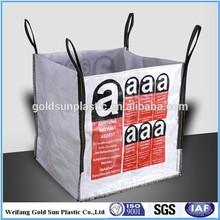 Asbestos disposal bulk bag,U-panle pp woven bulk bag