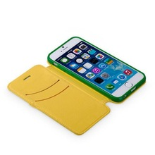 Leather phone case with credit card holder For iPhone 6
