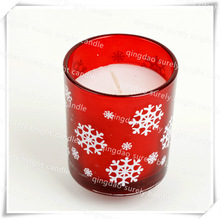 printing on the glass candles/italian candles