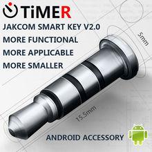 Hot 360 Click Quick Button Xiaomi Mikey Mi Key Shortcuts Smart Jakcom Key 3.5mm Earphone Jack dust Plug For Andrid WP Phone