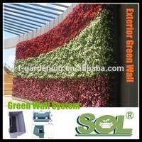 Vertical garden green wall SL-XQ3319 decorative indoor flower pots vertical container