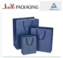 2015 Guangzhou elegant designed promotional price luxury paper packaging fashion shopping bag