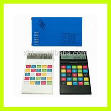 7 shaped Full color Rainbow Calculator