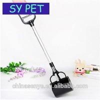 Long-handled pooper scooper pet pooper scooper pick up the dog clip clip stool stool shovel to clean up dog feces