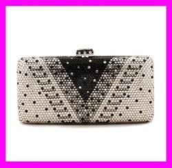 New coming crystal and rhinestone evening bags clutch lady elegance purse HD1383