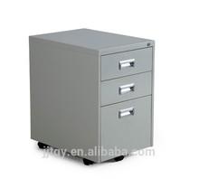 2015 3 drawers metal file cabinet office furniture