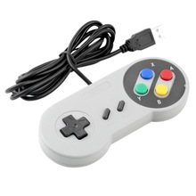 New Arrival Controllers SEALED Retro Super for Nintendo SNES USB Controller for PC for MAC Wholesale