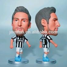 Custom Football player toys Ronaldo figure, PVC football player doll toys,Mini football player toys