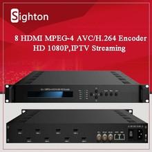 Broadcasting HD/SD H.264 IP Streamer;AV/HDMI to IP Encoder