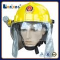 Alta calidad seguridad bombero casco fuego equipo para bomberos