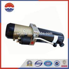 12 Volt Hydraulic Pump Motor Power Unit
