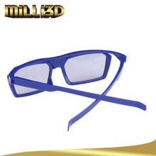 occhiali 3d polarizzati circolari di plastica personalizzati