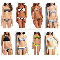 2015 New Sexy Bikini Women's Bandage Set Padded Bra Swimsuit Bathing Swimwear
