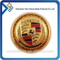 Custom die casting car metal emblems