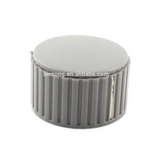 KYZ25-18-6J 6mm Dia Gray Plastic Volume Control Rotary Potentiometer Knob Cap