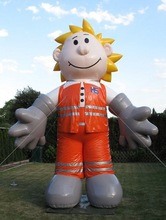 Advertising outdoor inflatable replica/ mascot cartoon
