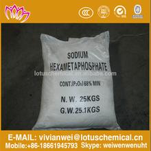 cas10124-56-8 SHMP Sodium Polyphosphates